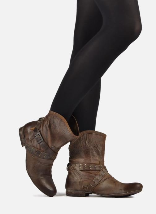 Ankle boots Koah Kristy Black view from underneath / model view