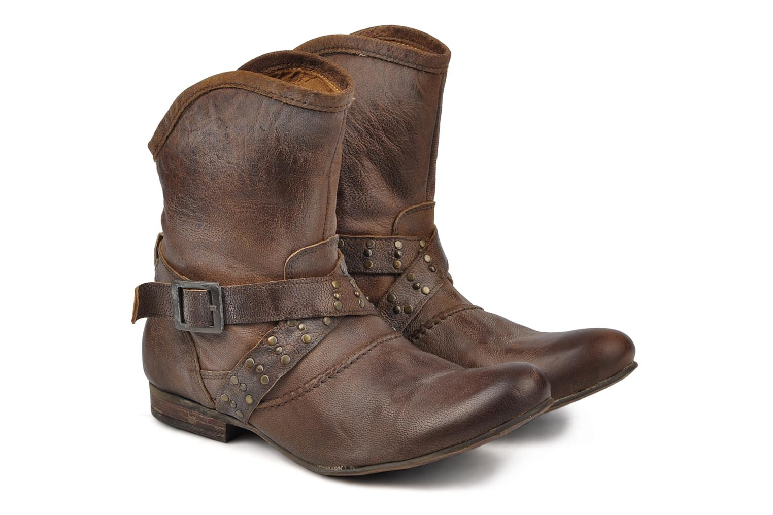 Ankle boots Koah Kristy Brown 3/4 view