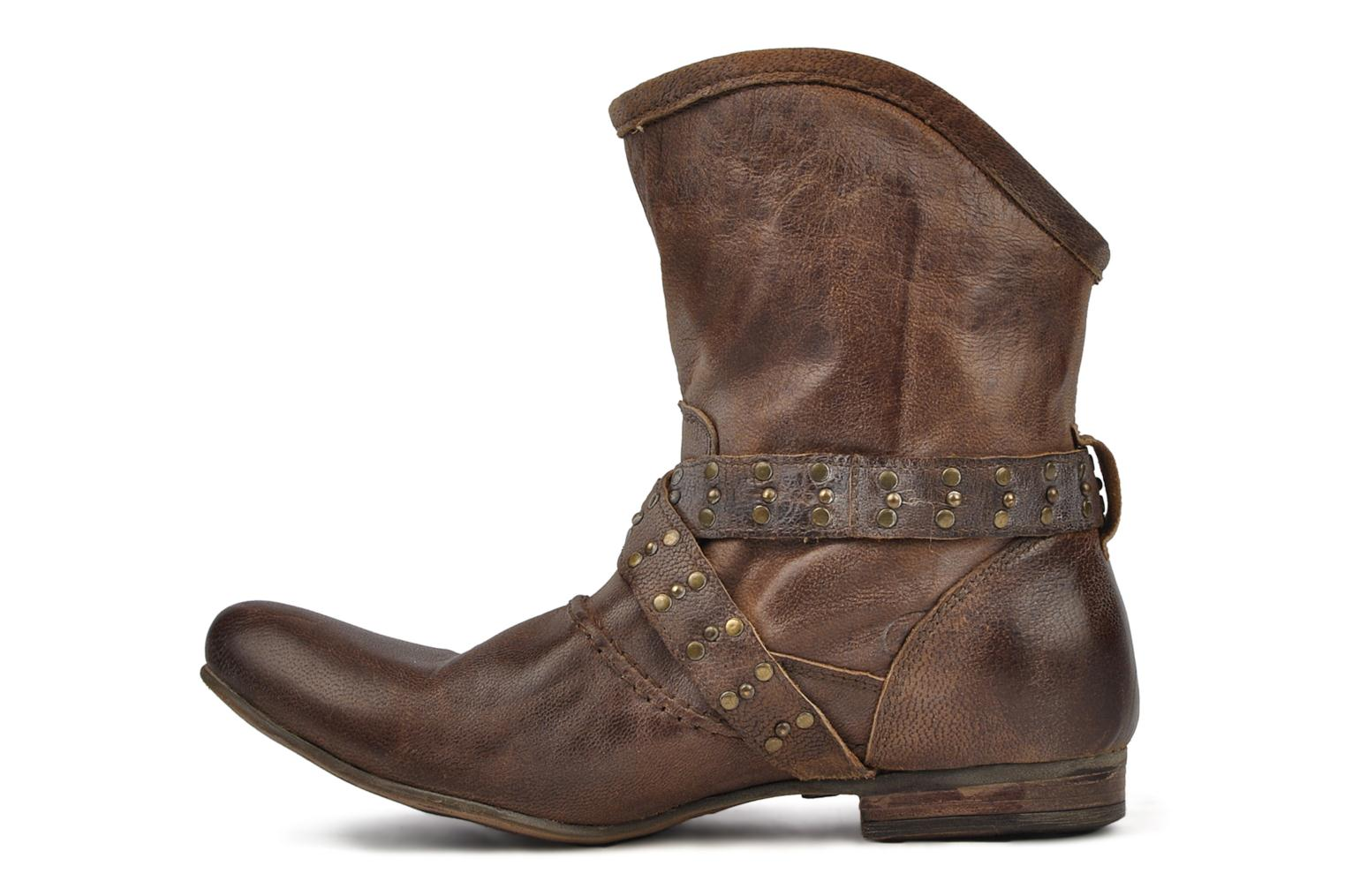 Ankle boots Koah Kristy Brown front view