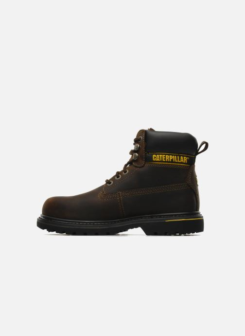 Ankle boots Caterpillar Holton SB Brown front view