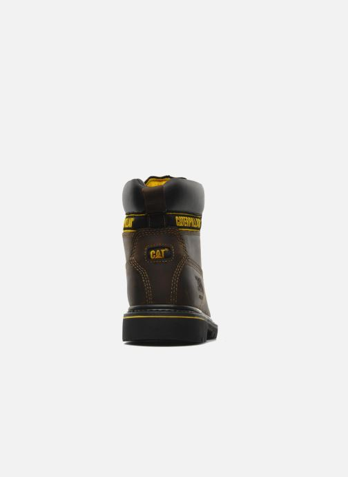 Stiefeletten & Boots Caterpillar Holton SB braun ansicht von rechts