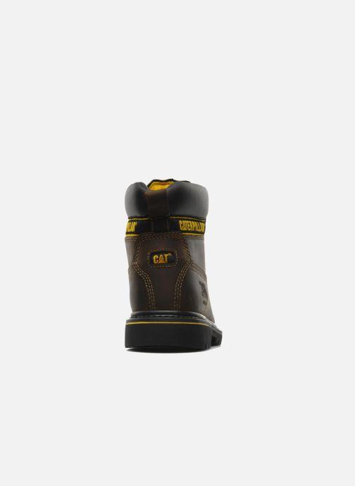 Bottines et boots Caterpillar Holton SB Marron vue droite