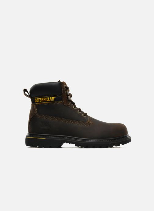 Ankle boots Caterpillar Holton SB Brown back view