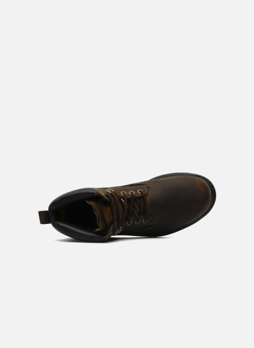 Ankle boots Caterpillar Holton SB Brown view from the left