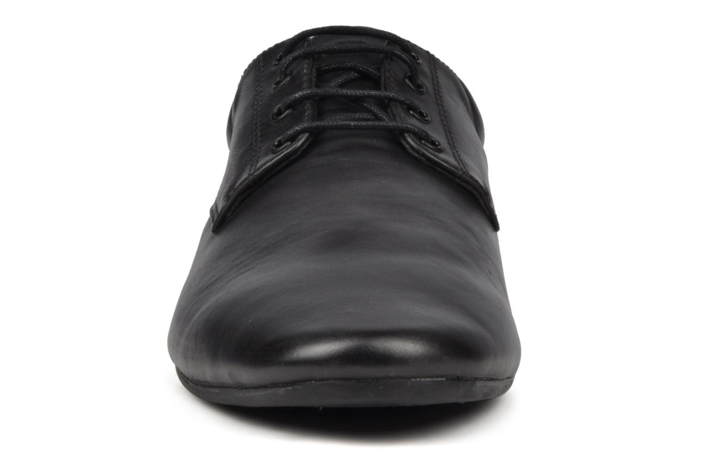 Chaussures à lacets Schmoove Fidji New Derby Noir vue portées chaussures