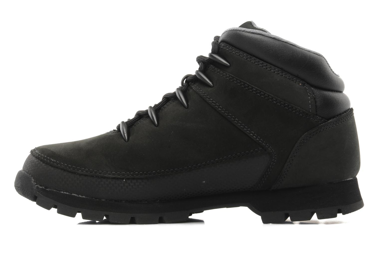Chaussures à lacets Timberland Euro Sprint Noir vue face