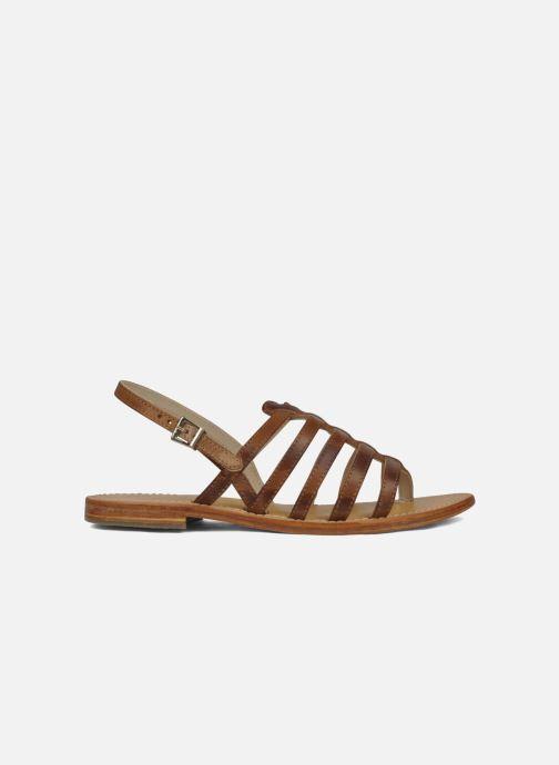 Sandales et nu-pieds Les Tropéziennes par M Belarbi Heriber Marron vue derrière