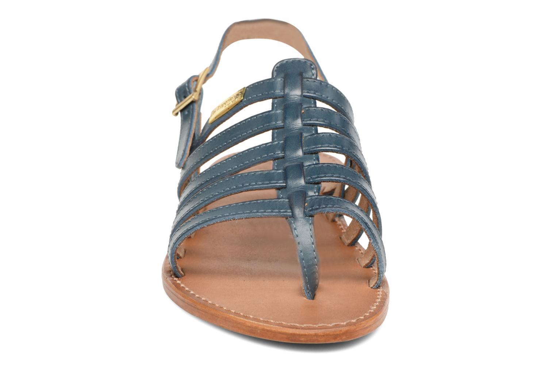 Sandales et nu-pieds Les Tropéziennes par M Belarbi Heriber Bleu vue portées chaussures