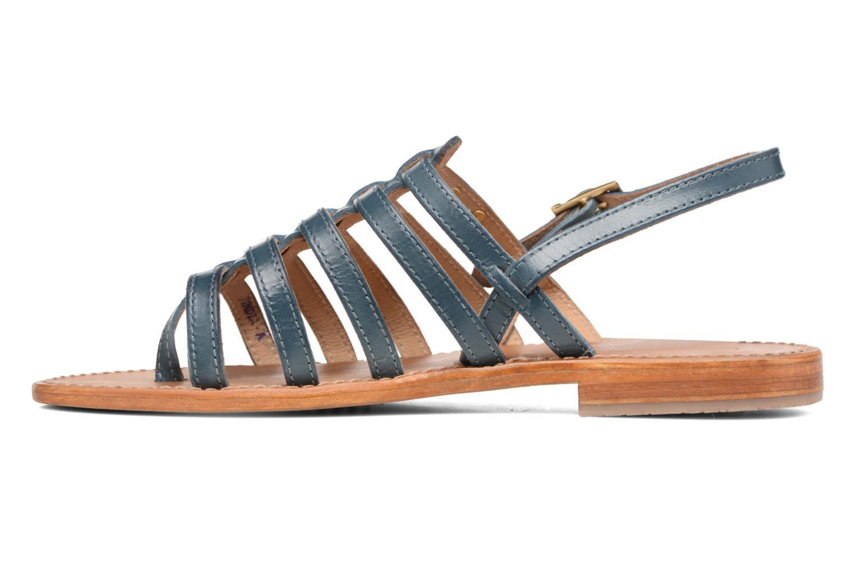 Sandales et nu-pieds Les Tropéziennes par M Belarbi Heriber Bleu vue face