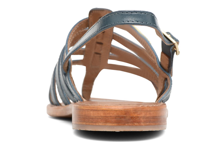 Sandales et nu-pieds Les Tropéziennes par M Belarbi Heriber Bleu vue droite