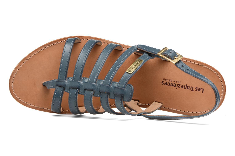 Sandales et nu-pieds Les Tropéziennes par M Belarbi Heriber Bleu vue gauche
