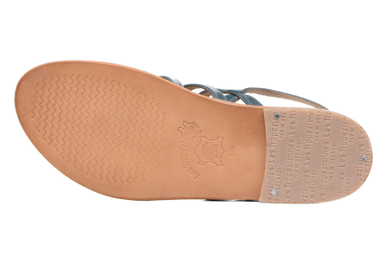 Sandales et nu-pieds Les Tropéziennes par M Belarbi Heriber Bleu vue haut