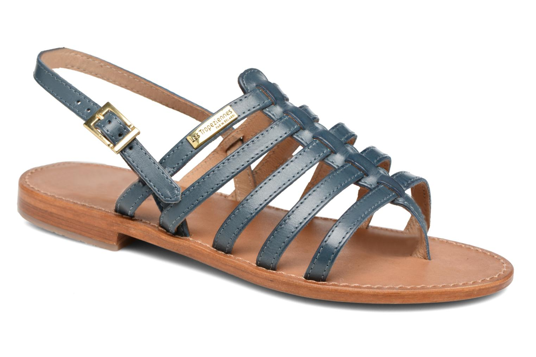 Sandales et nu-pieds Les Tropéziennes par M Belarbi Heriber Bleu vue détail/paire