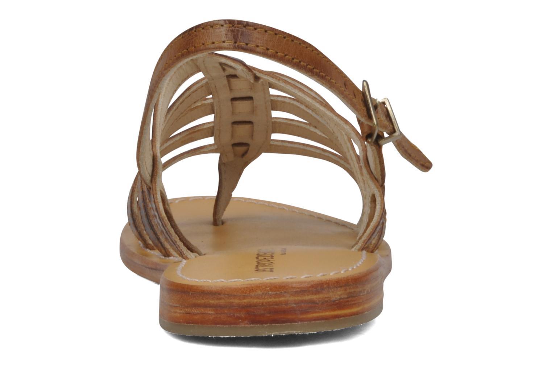 Sandalen Les Tropéziennes par M Belarbi Heriber braun ansicht von rechts