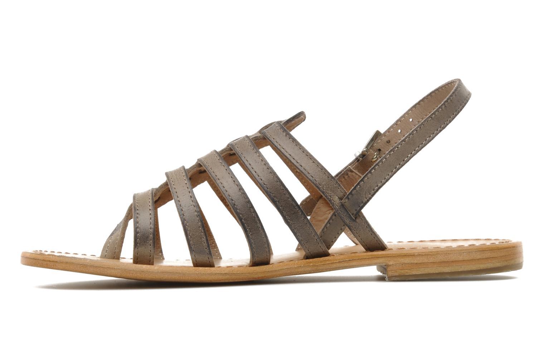 Sandales et nu-pieds Les Tropéziennes par M Belarbi Heriber Gris vue face