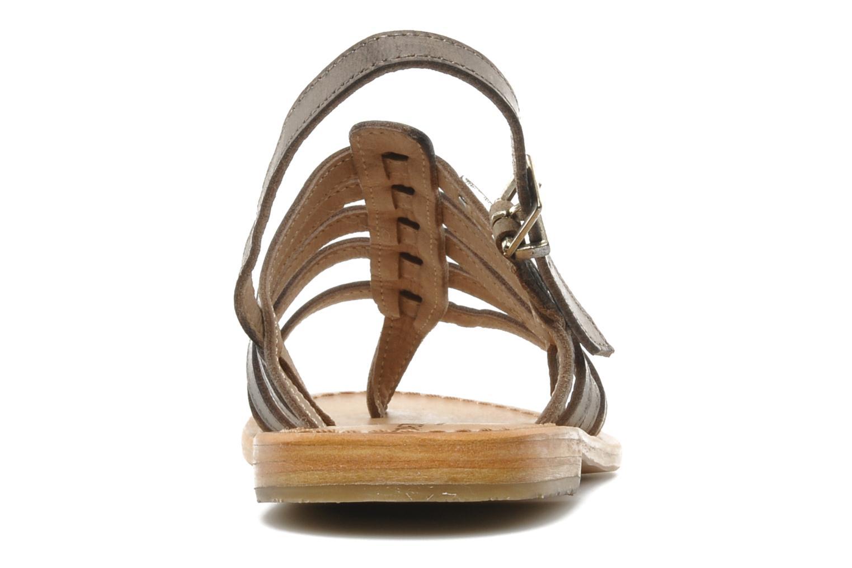Sandales et nu-pieds Les Tropéziennes par M Belarbi Heriber Gris vue droite