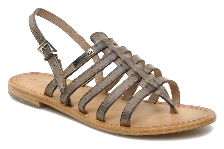 Sandales et nu-pieds Les Tropéziennes par M Belarbi Heriber Gris vue détail/paire