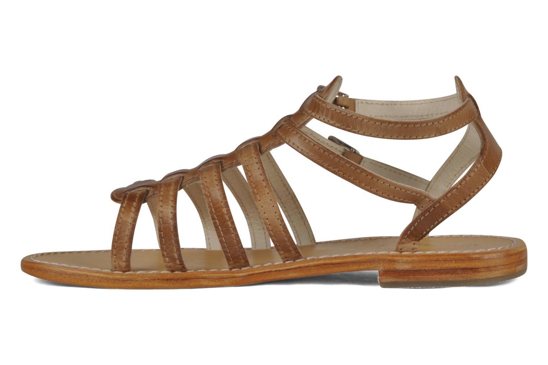 Sandales et nu-pieds Les Tropéziennes par M Belarbi Hicare Beige vue face