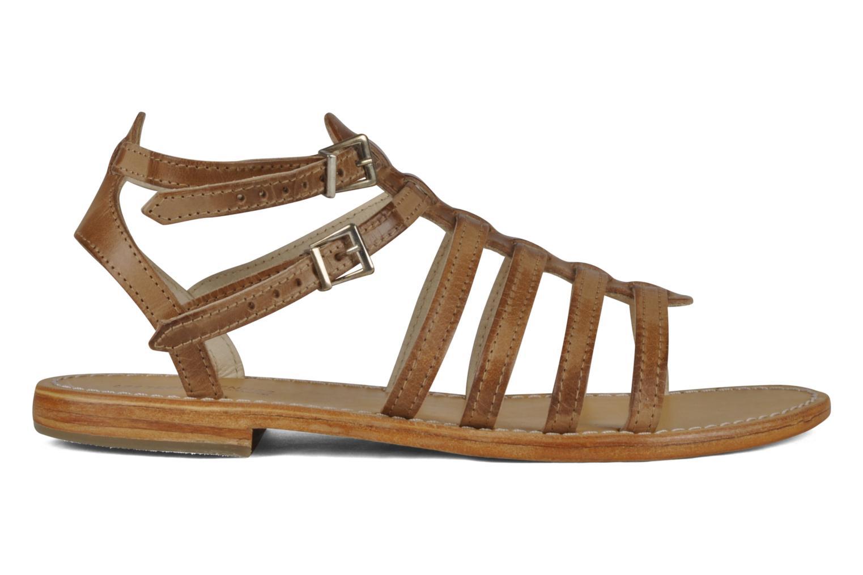 Sandales et nu-pieds Les Tropéziennes par M Belarbi Hicare Beige vue derrière