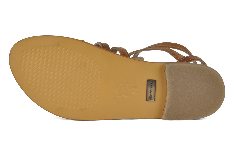 Sandales et nu-pieds Les Tropéziennes par M Belarbi Hicare Beige vue haut