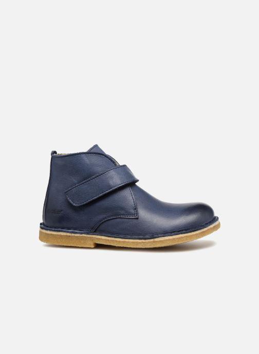 Chaussures à scratch Kickers Rekick Bleu vue derrière