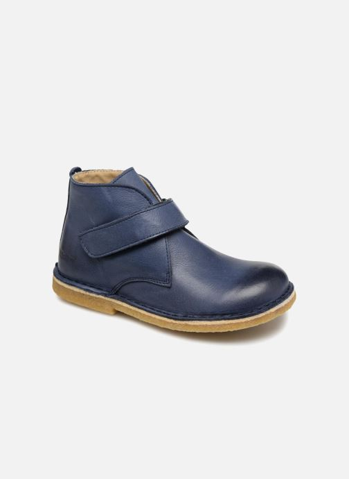Chaussures à scratch Kickers Rekick Bleu vue détail/paire