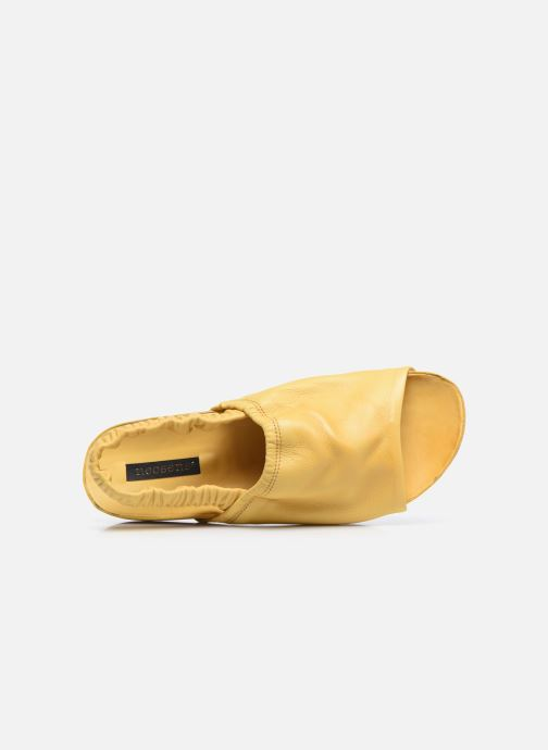 Bottines et boots Geox J pop p Jaune vue gauche