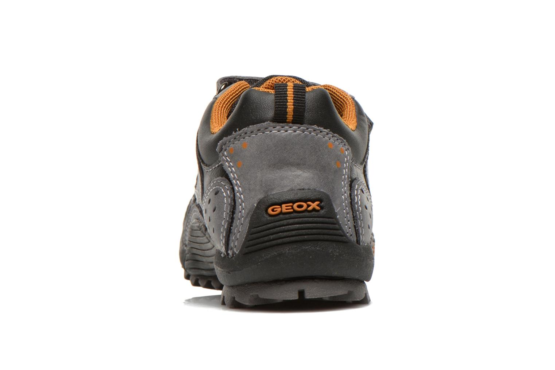 Chaussures de sport Geox J savage a Gris vue droite