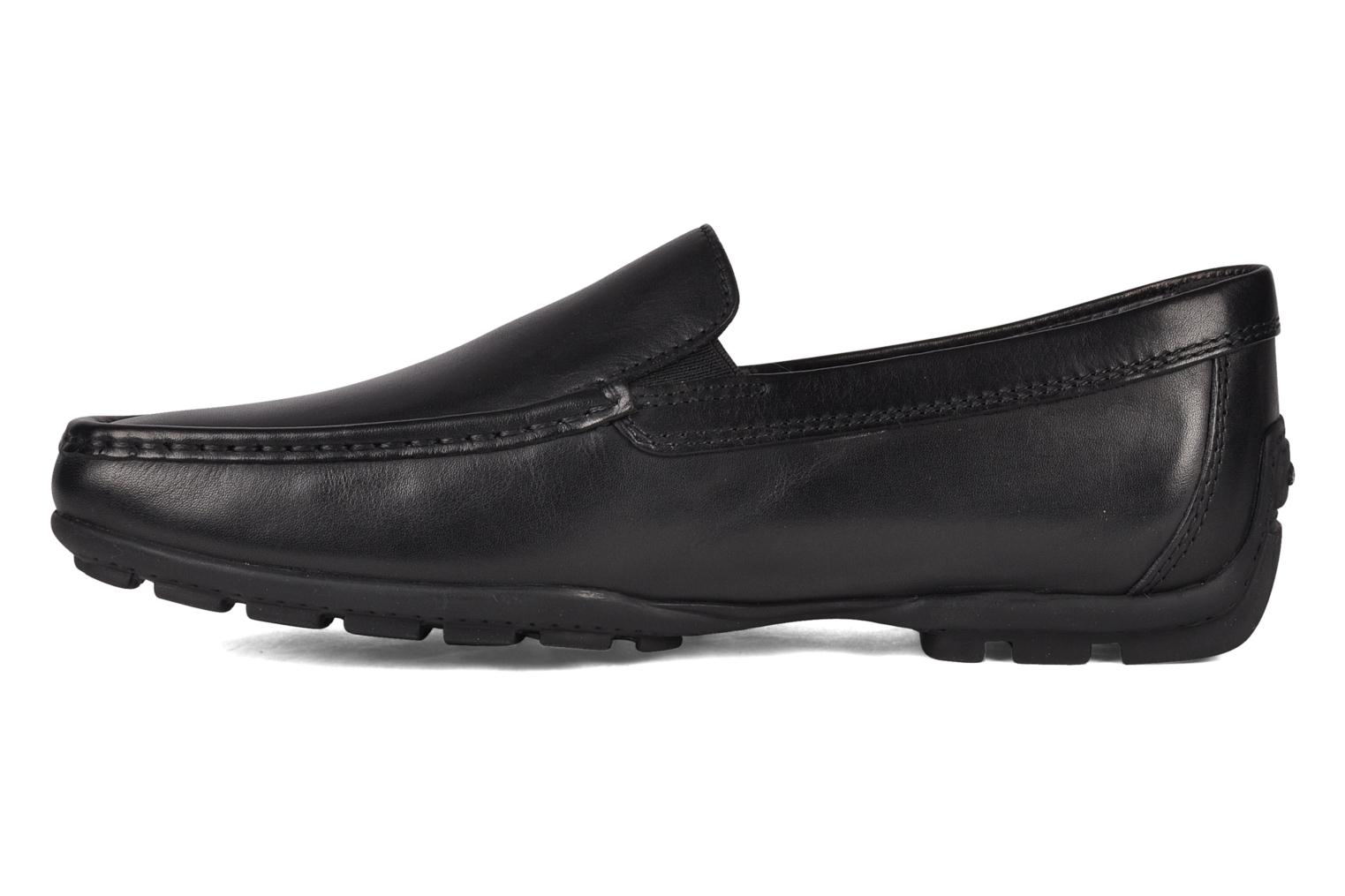 Mocasines Geox U MONET W 2FIT B U44Q6B Negro vista de frente