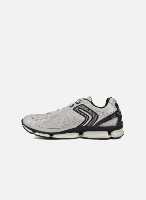 Chaussures de sport Geox D alpha b Blanc vue face