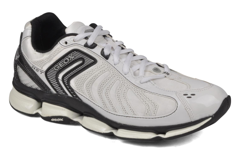 Sportssko Geox D alpha b Hvid detaljeret billede af skoene