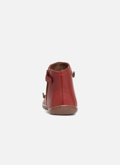 Ankle boots Camper Peu cami 90085 Red view from the right