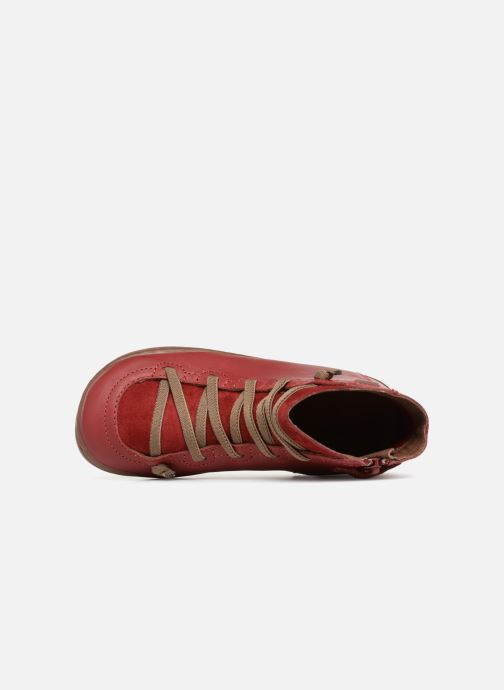 Ankle boots Camper Peu cami 90085 Red view from the left