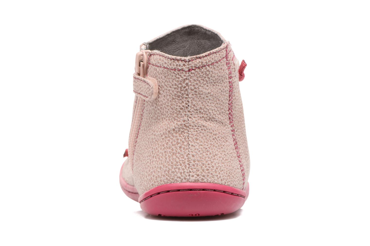 Ankle boots Camper Peu cami 90085 Pink view from the right