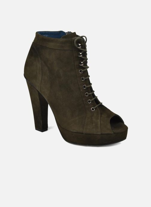 Ankle boots JB MARTIN Nuage Green detailed view/ Pair view