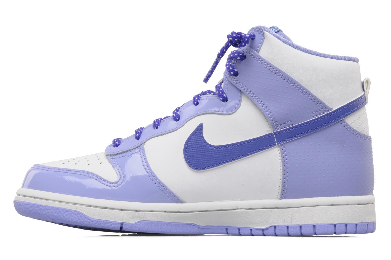 Baskets Nike Nike dunk high gg Violet vue face