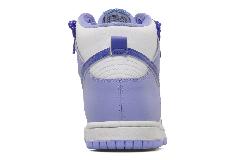 Baskets Nike Nike dunk high gg Violet vue droite