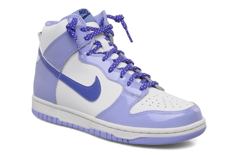 Baskets Nike Nike dunk high gg Violet vue détail/paire