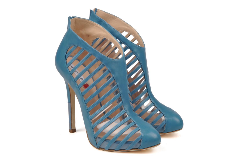 Bottines et boots Mary-Kyri Zoa Bleu vue 3/4