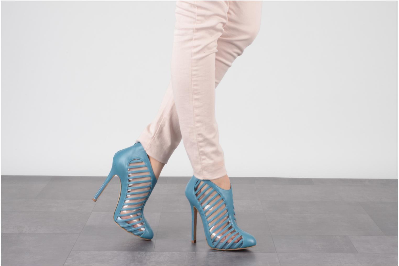 Bottines et boots Mary-Kyri Zoa Bleu vue bas / vue portée sac