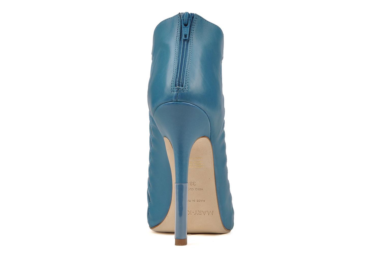 Bottines et boots Mary-Kyri Zoa Bleu vue droite