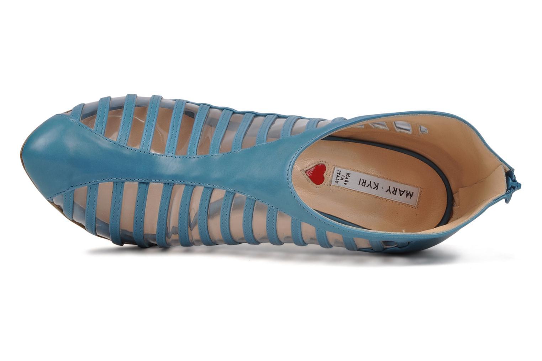 Bottines et boots Mary-Kyri Zoa Bleu vue gauche