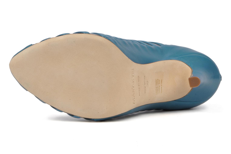 Bottines et boots Mary-Kyri Zoa Bleu vue haut