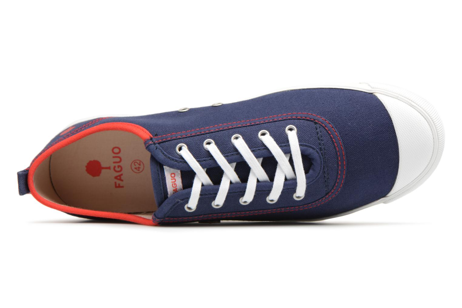 Trainers Faguo Oak m Blue view from the left