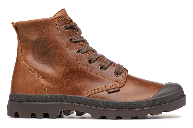 Bottines et boots Palladium Pampa hi leather M Marron vue derrière
