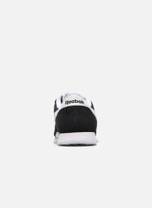 Trainers Reebok Classic Nylon W Black view from the right