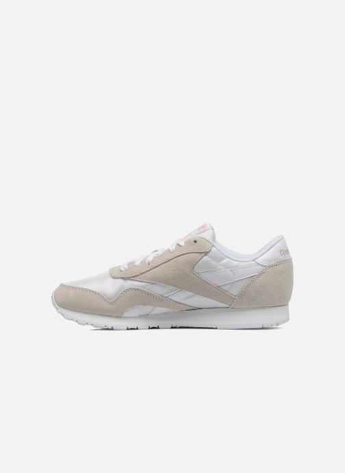 Sneaker Reebok Classic Nylon W weiß ansicht von vorne
