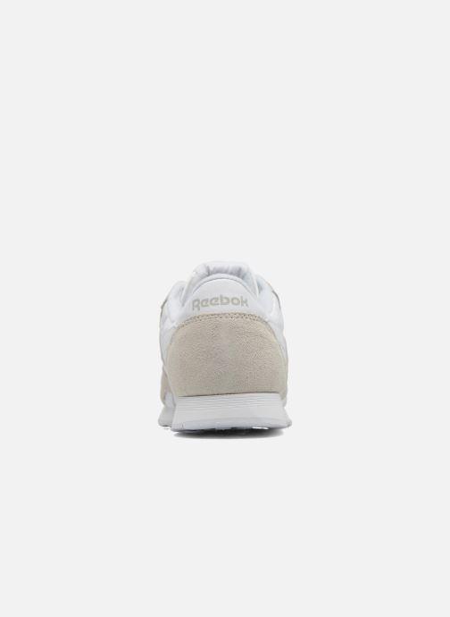 Baskets Reebok Classic Nylon W Blanc vue droite