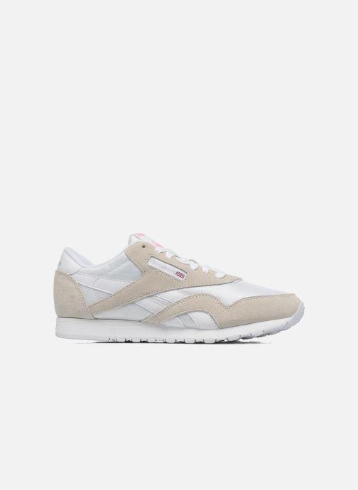 Sneakers Reebok Classic Nylon W Bianco immagine posteriore