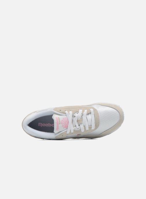 Sneakers Reebok Classic Nylon W Bianco immagine sinistra